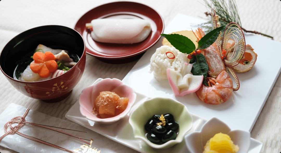 季節のお食事(おせち)